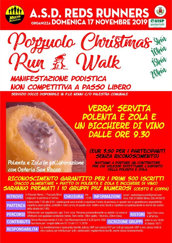 Pozzuolo Christmas Run Walk 2019