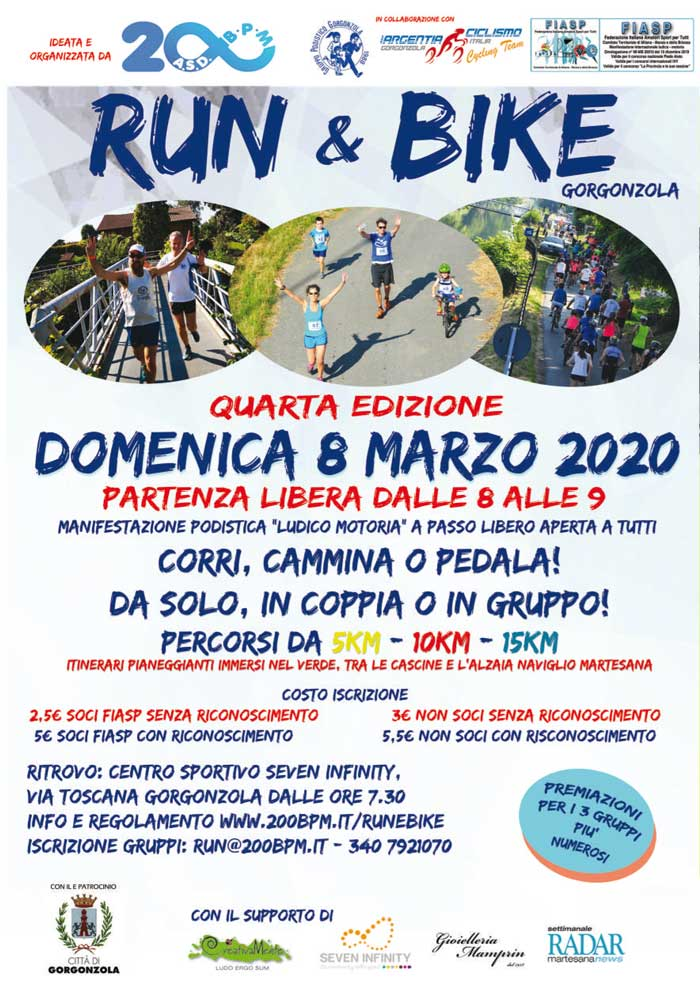 Run & Bike Gorgonzola 4^ edizione
